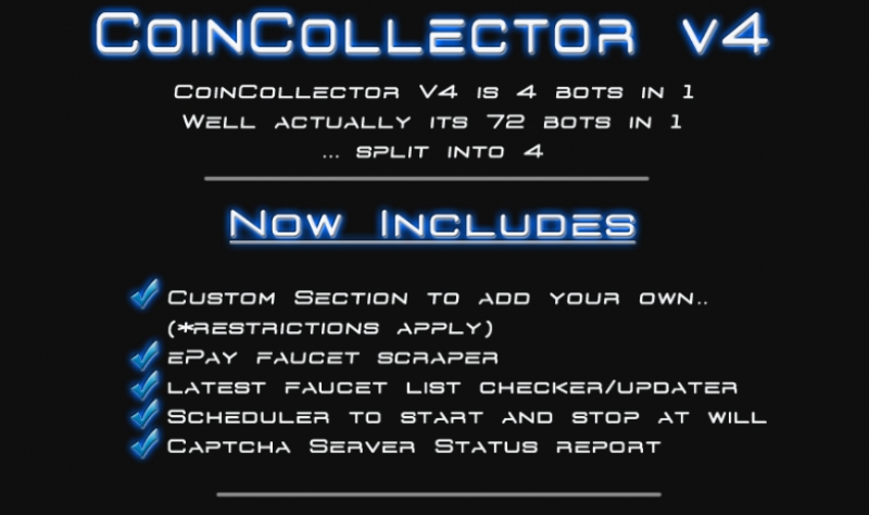 Coin collector bitcoins generator